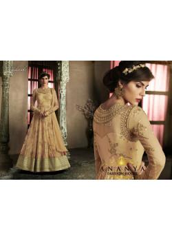 Enigmatic Gold Silk Salwar kameez