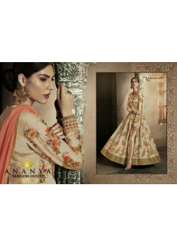 Trendy Yellow Silk Salwar kameez