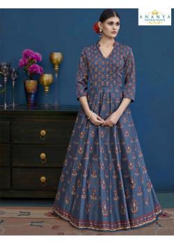 Charming Multicolor Silk Salwar kameez
