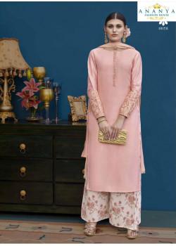 Melodic Pink Silk Salwar kameez