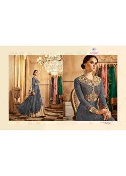 Exotic Blue Georgette- Santoon Salwar kameez