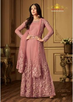 Gorgeous Pink Net- Santoon Salwar kameez