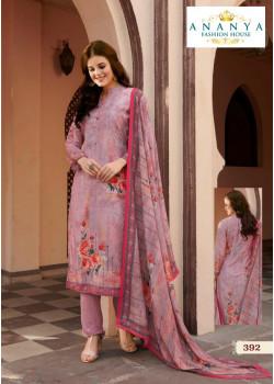 Flamboyant Pink Satin Salwar kameez