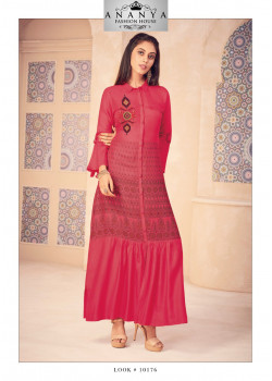 Incredible Magenta Modal Kurti