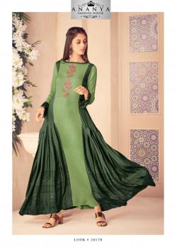 Charming Green Modal Kurti