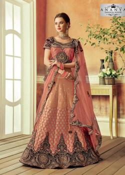 Divine Pink color Silk Designer Lehenga