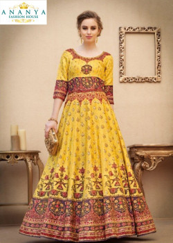 Charming Yellow color Banarasi Silk Designer Lehenga