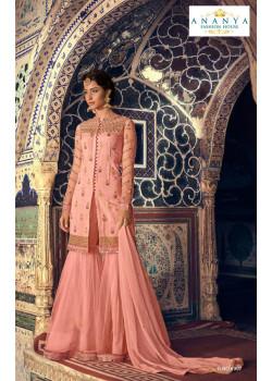 Incredible Pink Net- Santoon Salwar kameez