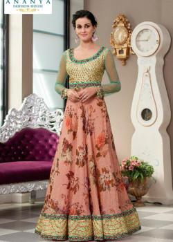 Classic Light Pink color Silk Designer Lehenga