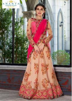 Incredible Light Pink color Silk Designer Lehenga