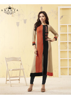 Magnificient Multy Rayon Readymade Kurti